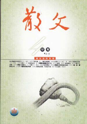 散文2009年3月刊