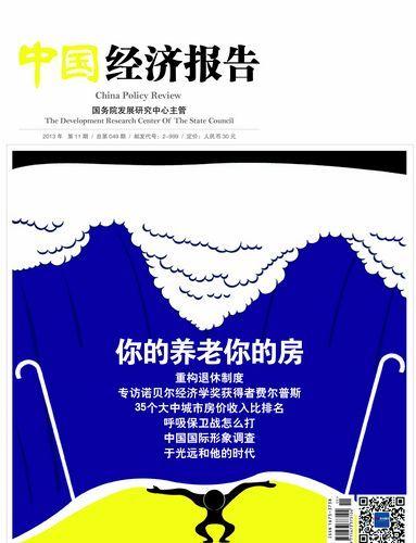 中国经济报告2013年11月期封面