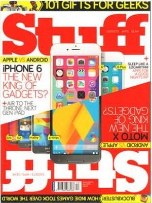 Stuff科技产品博览(英国)(1年共12期)(杂志订阅)