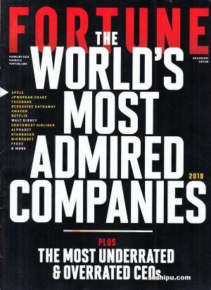 財富英文版(Fortune)(英語)(1年共20期)(雜志訂閱)
