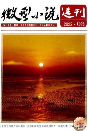 微型小说选刊(1季度共6期)(杂志订阅)