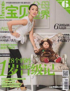 停刊--宝贝世界(1年共12期)(杂志订阅)