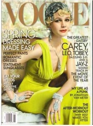 时尚Vogue�美国版��英语��1年共12期��杂志订?#27169;?
