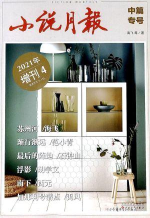 小说月报中长篇专号(1季度共1期)(杂志订阅)