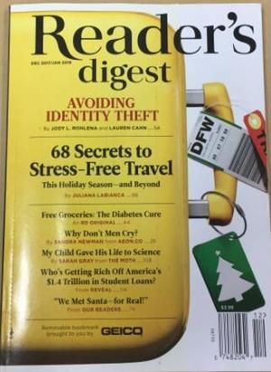 讀者文摘美國版 Reader s Digest(US)(英語)(1年共10期)(雜志訂閱)