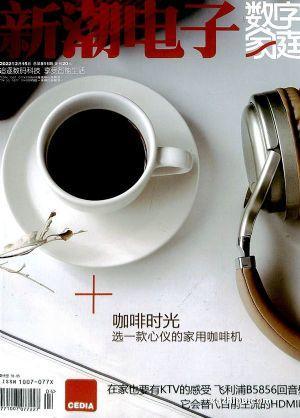 新潮电子 数字家庭(1年共12期)(杂志订阅)