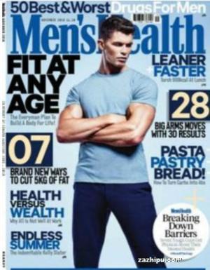 健康男子Mens Health(美國)(1年共12期)(雜志訂閱)