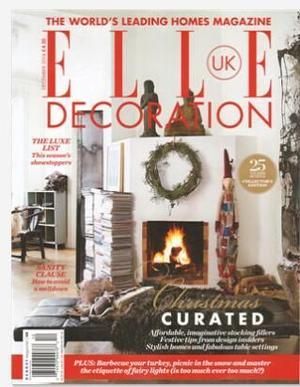 ELLE Decoration住宅装饰(英国版)(英语)(1年共12期)(杂志订阅)