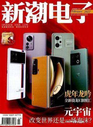 新潮电子(1季度共3期)(杂志订阅)