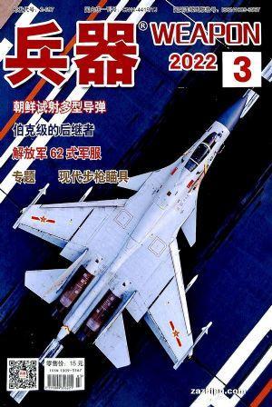兵器(1年共12期)(杂志订阅)