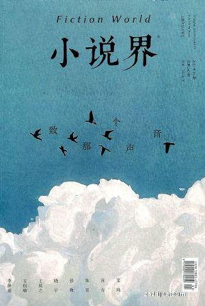 小说界(半年共3期)(杂志订阅)