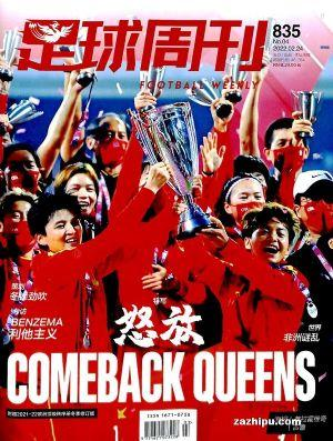 足球周刊(1年共27期)(杂志订阅)