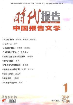 时代报告 中国报告文学(1年共12期)(杂志订阅)