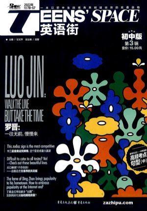 英语街初中版(1年共12期)(杂志订阅)