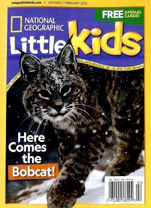 美国国家地理幼儿版3-6岁(英文原版)National Geographic  Little Kids(单月共1期)(杂志订阅)