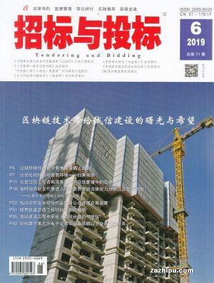 招标与投标(1年共12期)(杂志订阅)
