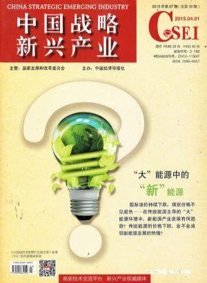 中国战略新兴产业(1年共24期)(杂志订阅)