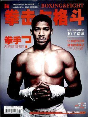 拳击与格斗(1年共12期)(杂志订阅)