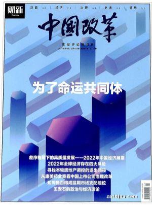 中國改革(1年共6期)(雜志訂閱)