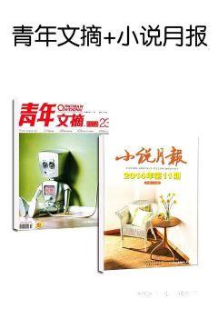 青年文摘(1年共24期)+小說月報(1年共12期)兩刊組合訂閱(雜志訂閱)
