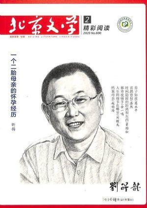 现货北京文学免费试读期数随机