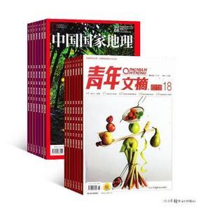 青年文摘(1年共24期)+中国国家地理(1年共12期)两刊组合订阅(杂志订阅)