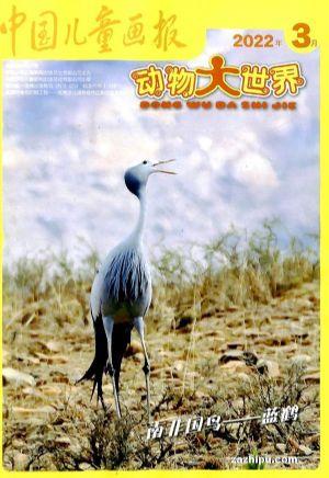 包邮 动物大世界 中国儿童报(1年共12期)(杂志订阅)【杂志铺专供】