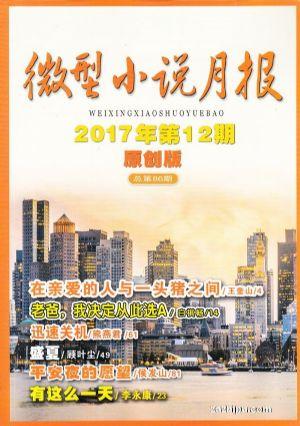 微型小说月报原创版(1季度共3期)(杂志订阅)
