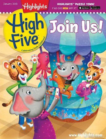 Highlights High Five (一年共12期)
