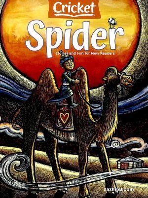 Spider红蜘蛛�一年共9期��英文原版�