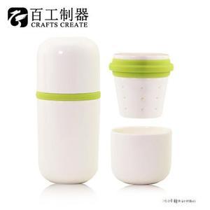 简约陶瓷创意健康杯