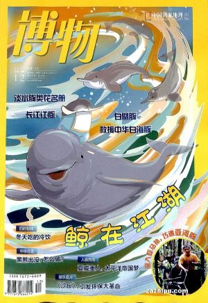 包邮 博物(1年共12期)(杂志订阅)