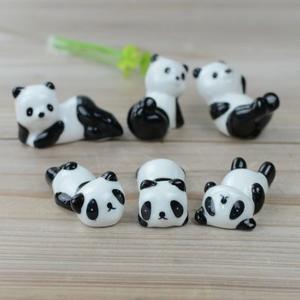 陶瓷熊猫筷子架