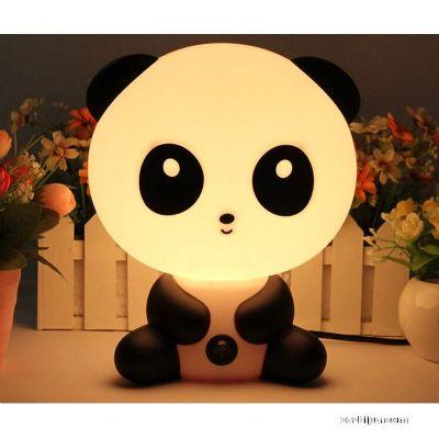 温馨床头儿童熊猫灯