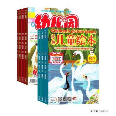 意林儿童绘本(1年共12期)+幼儿园(1年共12期)两刊组合订阅(杂志订阅)