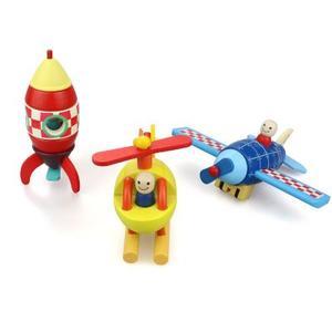 益智飞行器磁性拼装玩具(三选一)
