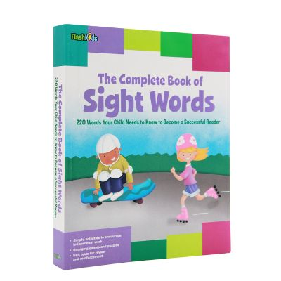 高频词sight words 英文原版进口儿童词典  The Complete Book of Sight Words