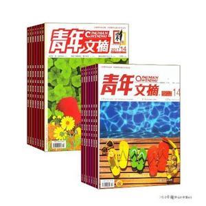 青年文摘(1年共24期)+青年文摘彩版(1年共24期)两刊组合订阅(杂志订阅)
