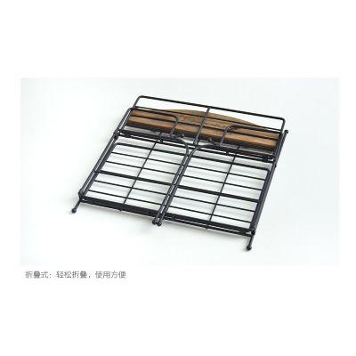 可折叠铁艺桌面收纳架