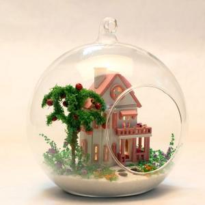 DIY玻璃小屋-迷你爱丽丝