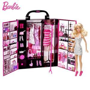 芭比娃娃梦幻衣橱套装