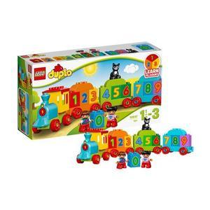 LEGO乐高得宝系列数字火车