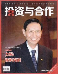 投资与合作(1年共12期)(杂志订阅)
