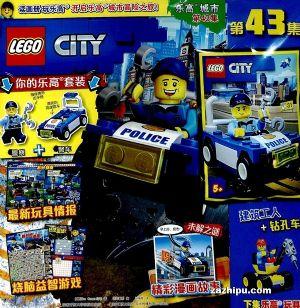 乐高城市(1年共12期)(杂志订阅)