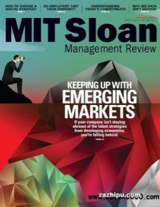 MIT Sloan Management Review斯隆管理评论(英文)(1年共4期)(杂志订阅)