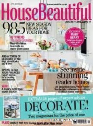 House Beautiful 住宅美化�英?#27169;�?年共10期��杂志订?#27169;?