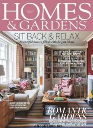 Homes & Gardens住宅與花園(英文)(1年共12期)(雜志訂閱)