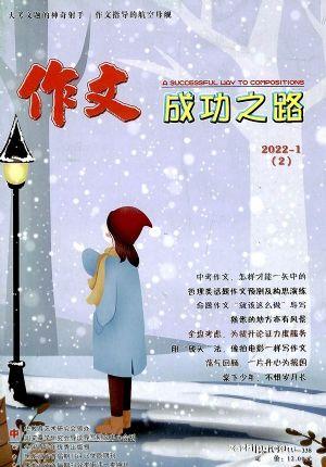 作文成功之路初中版(1季度共3期)(杂志订阅)
