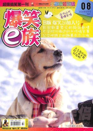 爆笑E族B版(半年共6期)杂志订阅