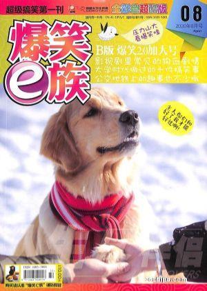 爆笑E族B版(1季度共3期)杂志订阅